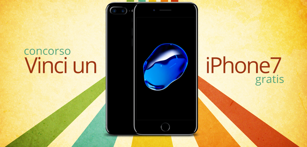 concorso iphone 7